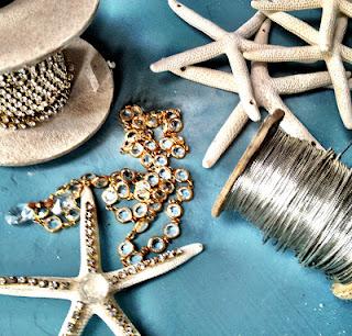 supplies for starfish chandelier