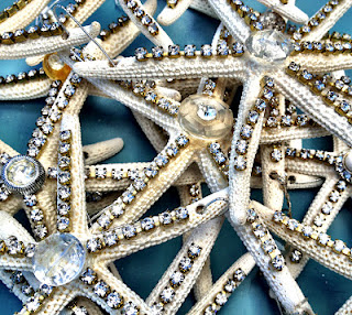 rhinestones and starfish
