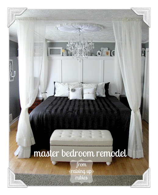 Diy inspiration from the project parade diy show off - Diy romantic bedroom ideas ...