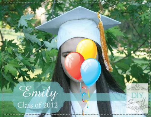 DIY graduation party invitation