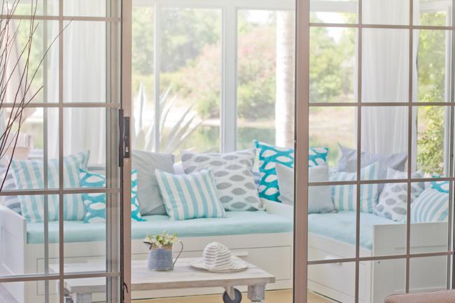 beach cottage sunroom