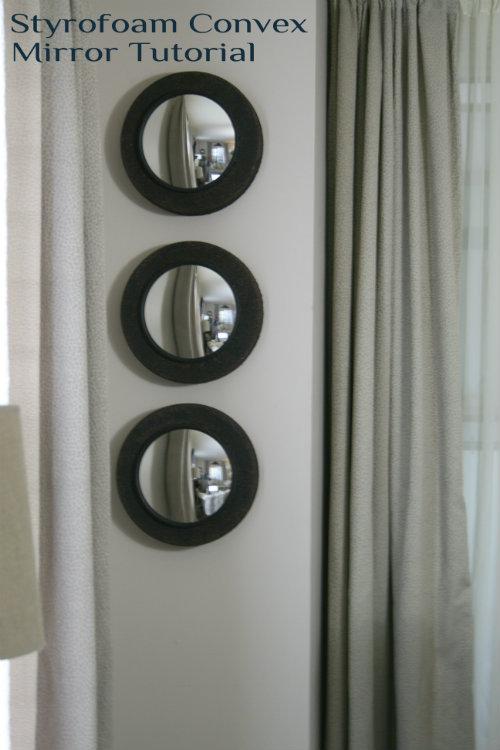DIY convex mirror tutorial
