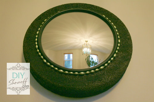 DIY convex mirror