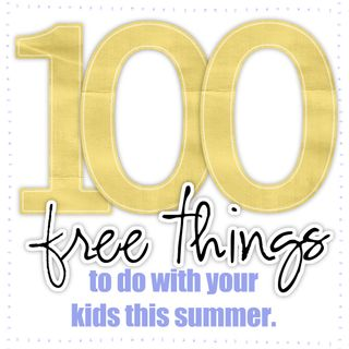 100 free summer ideas for kids