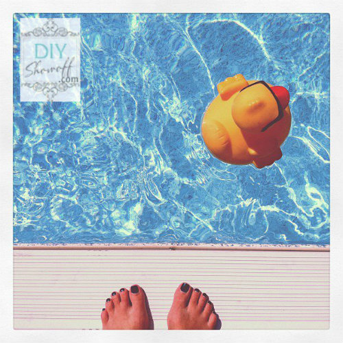 rubber ducky, pool