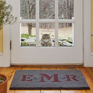 Vecco custom welcome rug
