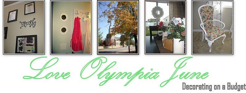 Love Olympia June blog