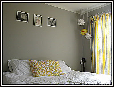 Gray and Yellow Bedroom | DIY Show Off ™ - DIY Decorating and Home ...
