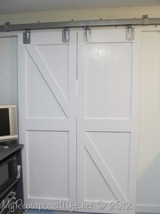 DIY interior barn doors