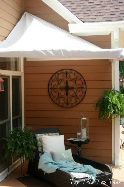 DIY cabana