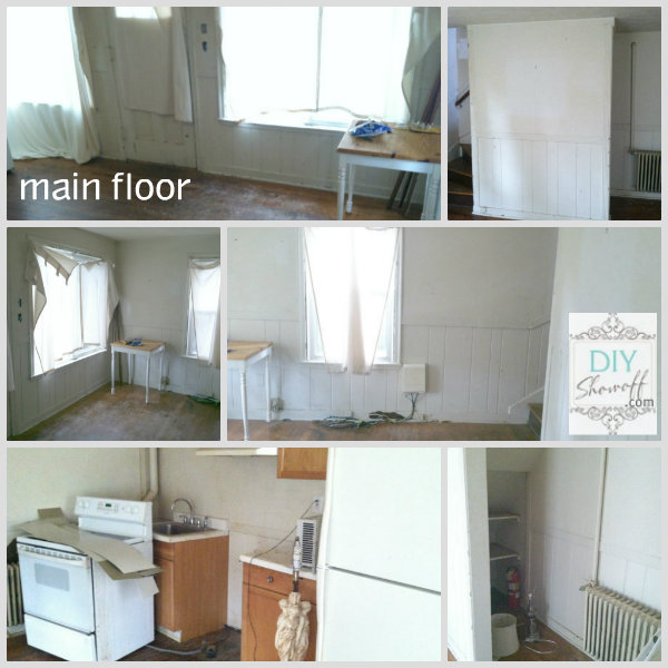 first floor apartment before