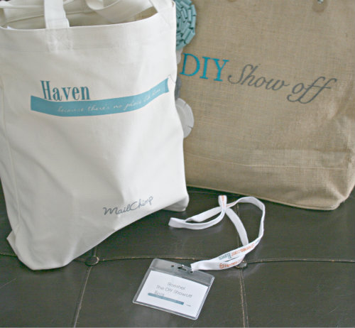 Haven 2012 swag bag