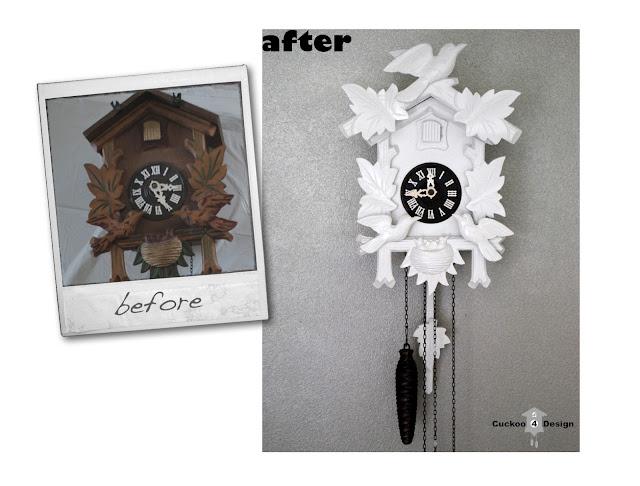 cuckoo clock makeover