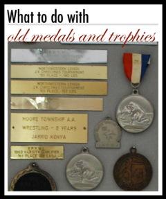 DIY medals trophies project