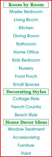 decorating ideas made easy