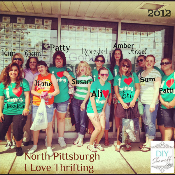 North Pittsburgh #ilovethrifting 2012