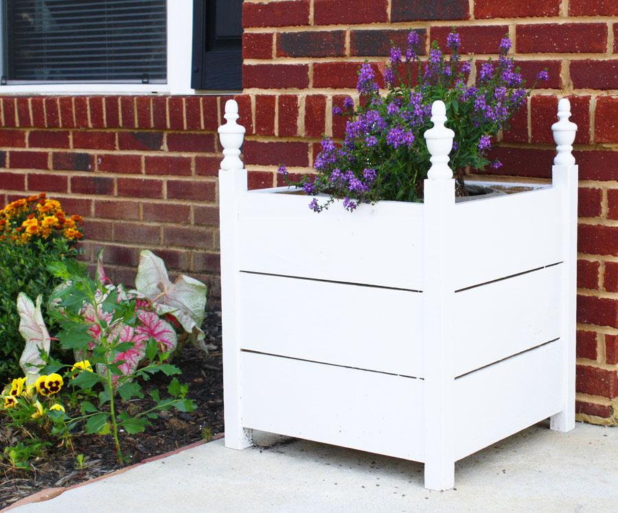 DIY box planters