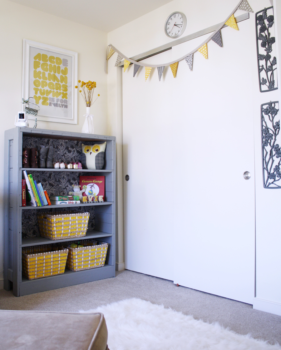 DIY nursery reveal