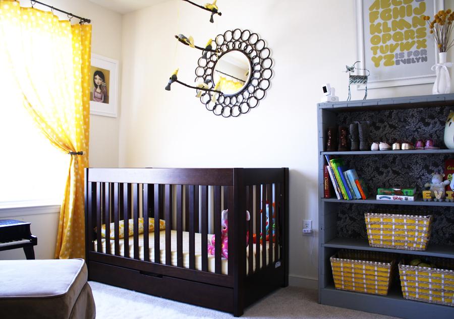 DIY nursery reveal