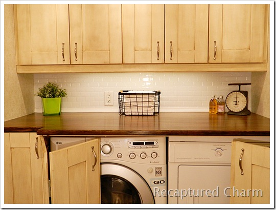 laundry room/powder room makeover