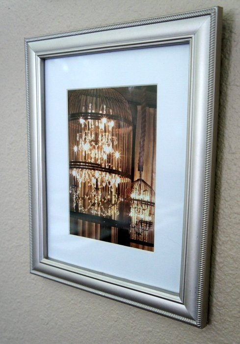 DIY framed Restoration Hardware catalog page