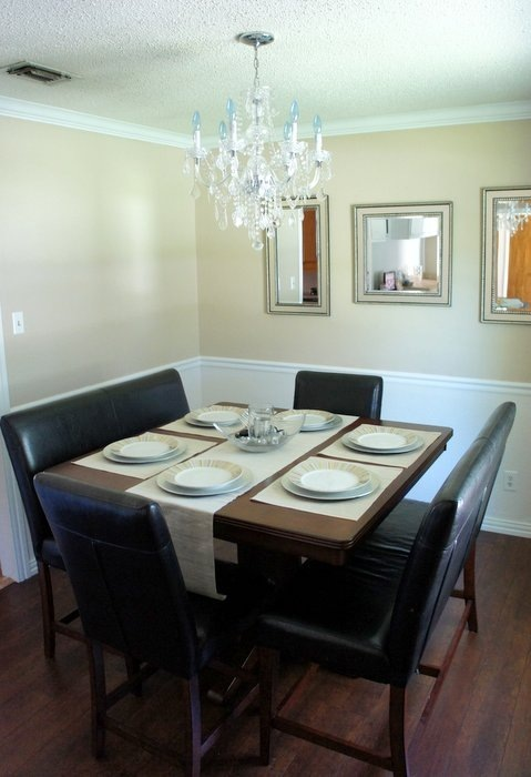 dining room makeover