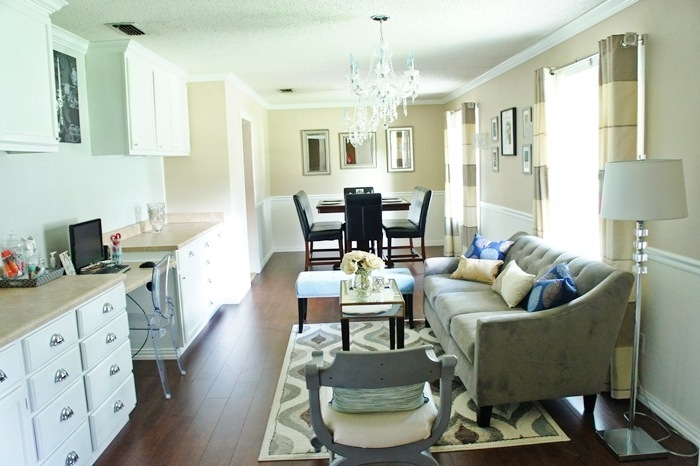 home office. One room  multi functional   a makeover story  dining room home