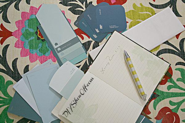 decorating notebook