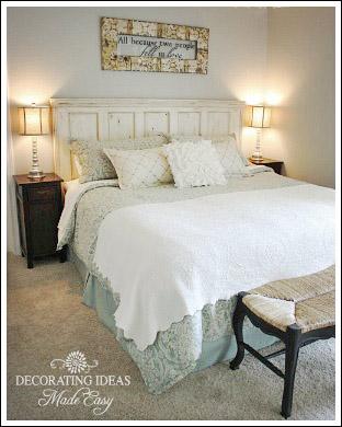 rustic beach inspired bedroom ideas | Decorating Ideas Made Easy - master bedroom makeoverDIY ...