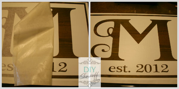 DIY sign tutorial