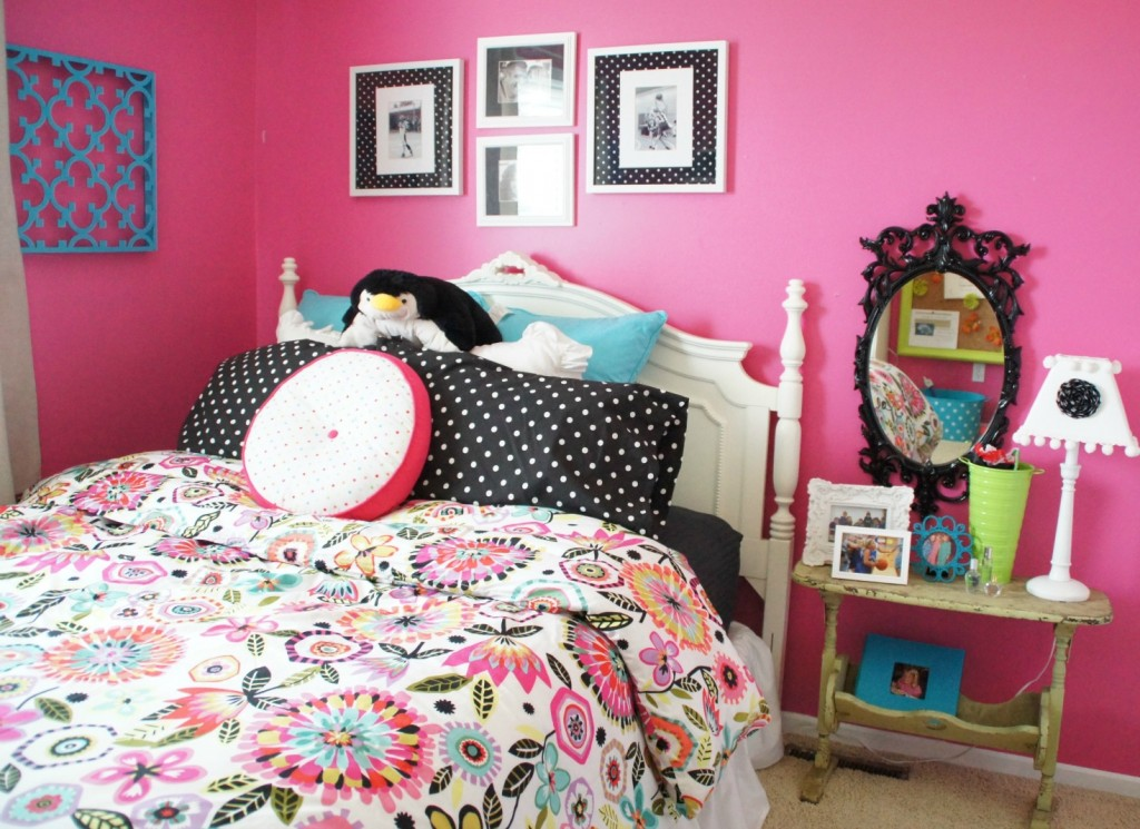 tween girl room makeover