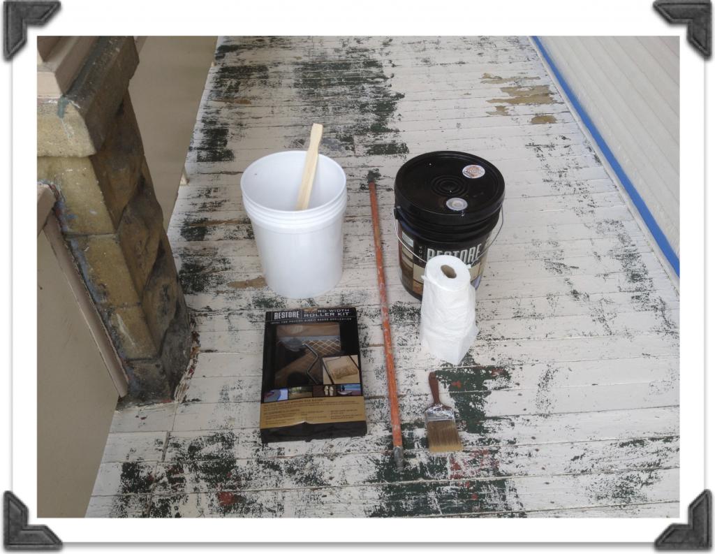 Restore Paint materials