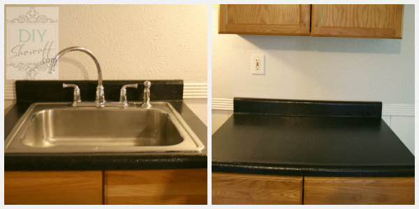 Rustoleum Countertop Transformations After - Onyx