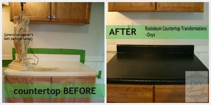 Rustoleum Countertop Transformations before and after