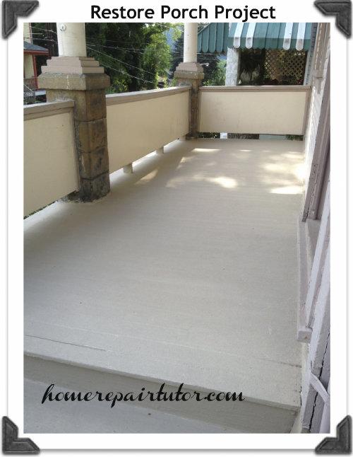 restore paint project