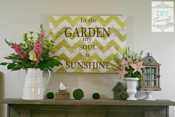 garden mantel