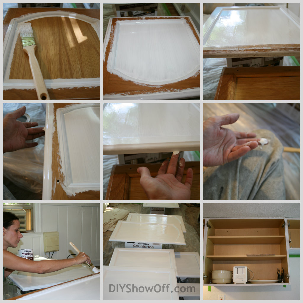 rustoleum cabinet transformations apartment progress diy show