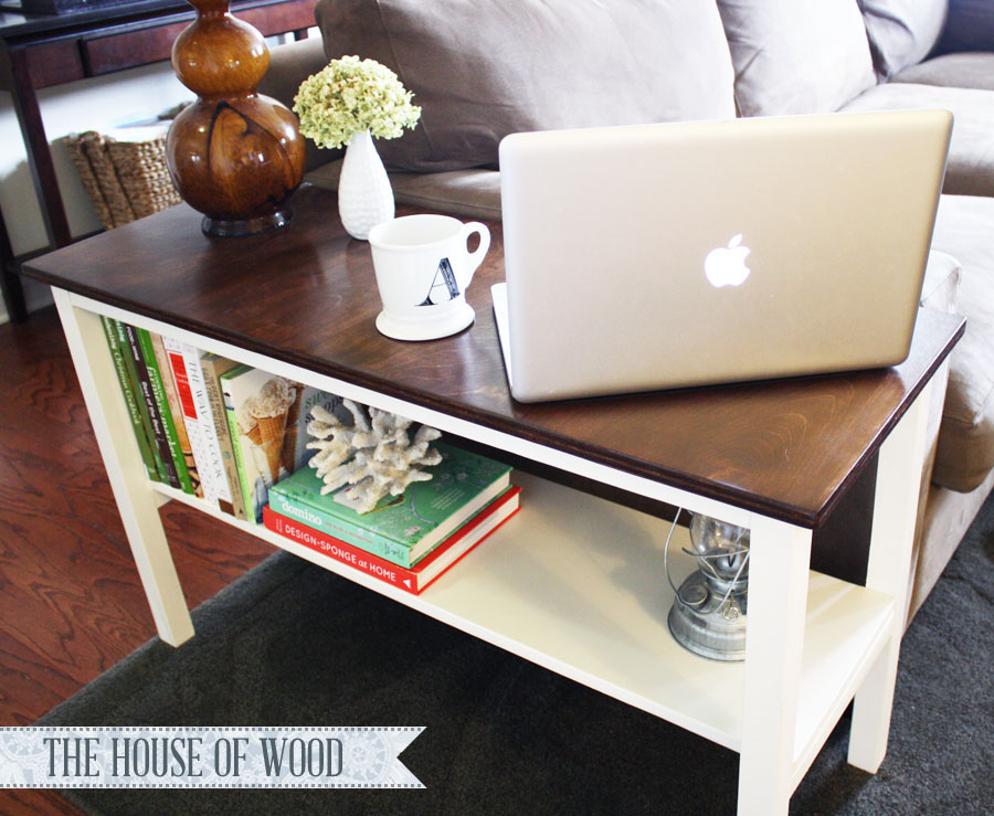 DIY end table - House of Wood