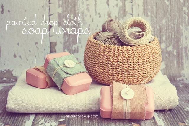 DIY soap wraps - Live.Laugh.Rowe