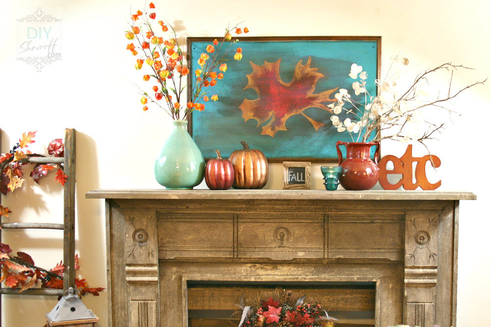 teal red fall mantle