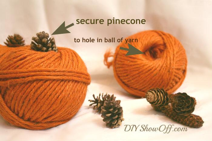 5 minute decorative DIY pumpkin project