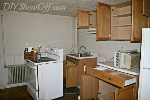 apartment kitchen makeover before