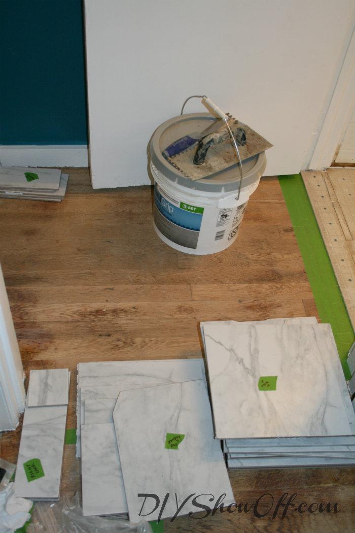labeled ceramic tiles