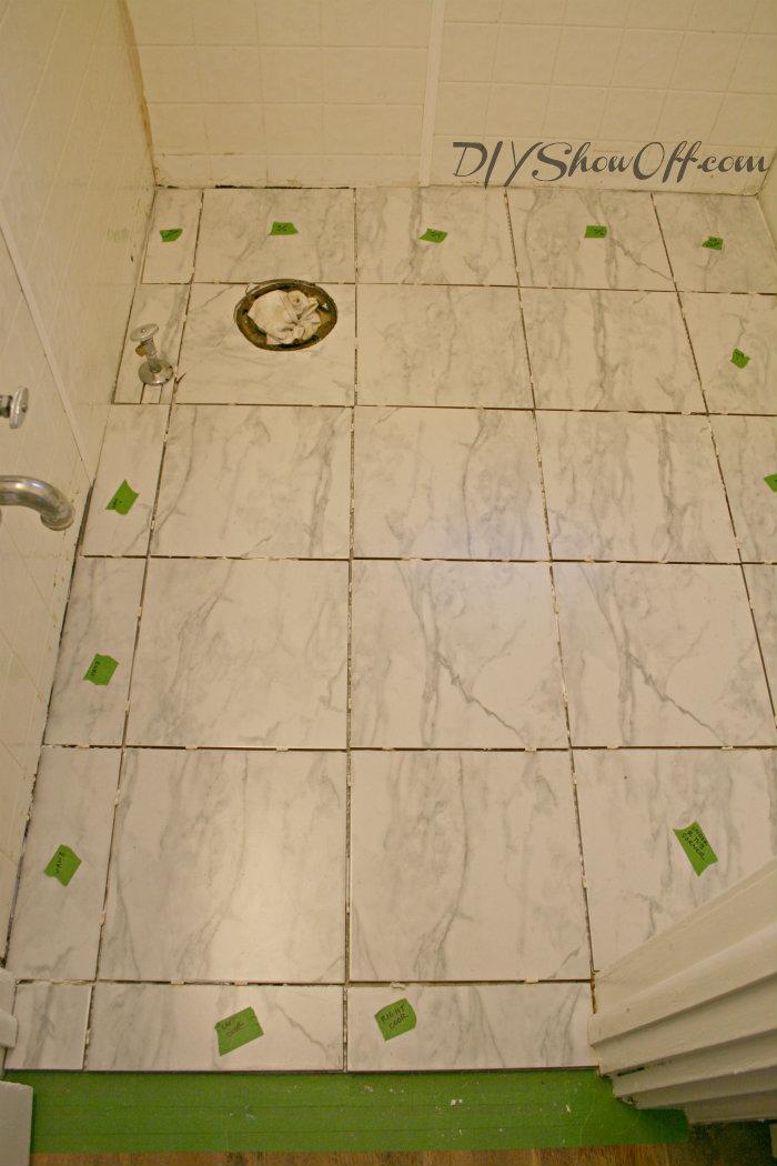 labeling cut tiles