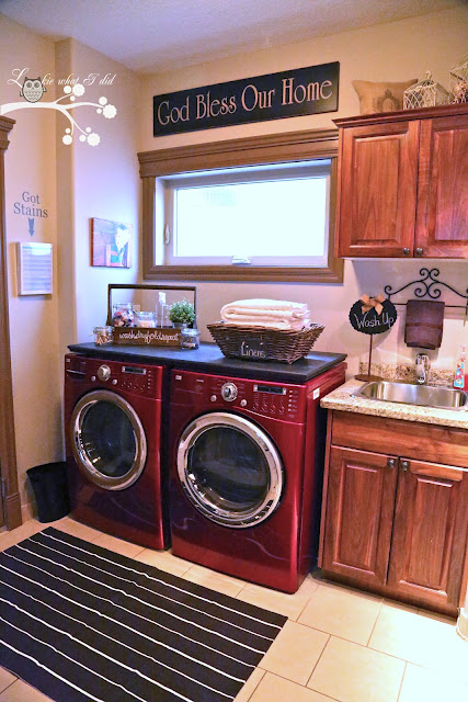 laundry room reveal - Lookie What I Did