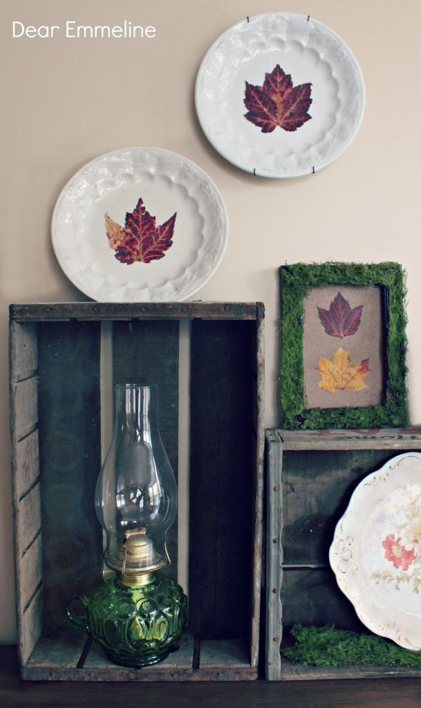 fall plate craft