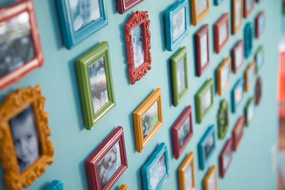 snapshot wall gallery