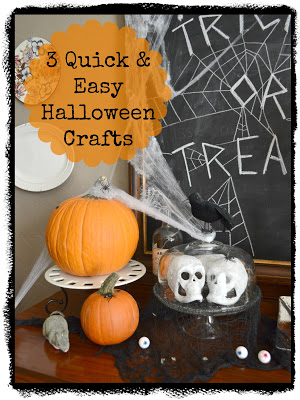 3 quick Halloween crafts