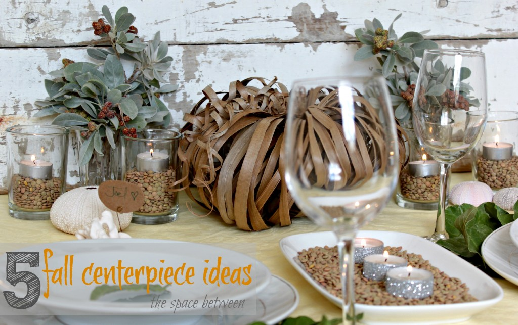 5 fall centerpiece ideas