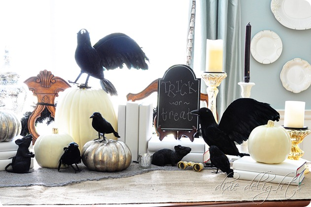 Halloween Home Tour at Dixie Delights